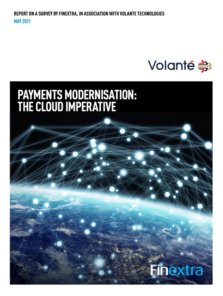 Payments Modernisation: The Cloud Imperative - page 1