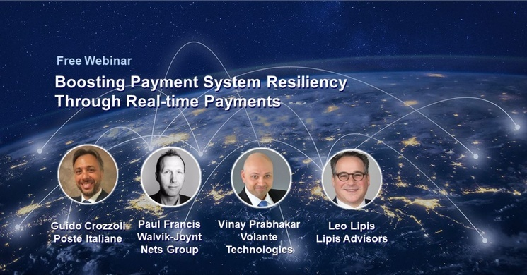 Webinar:Boosting Payment System Resiliency Through Real-time Payments