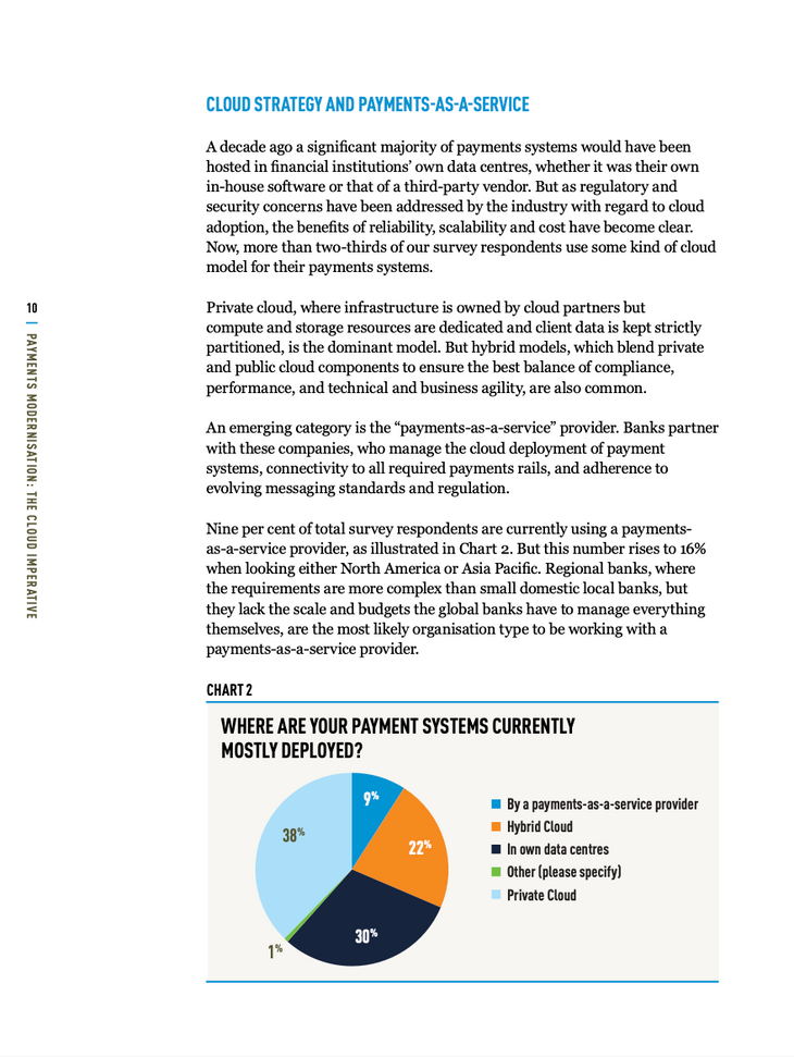 Payments Modernisation: The Cloud Imperative - page 2