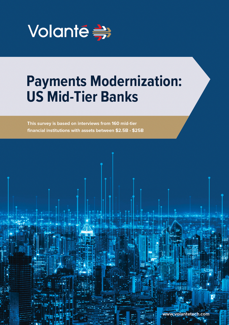 Payments Modernization US Mid-Tier Banks - page 1