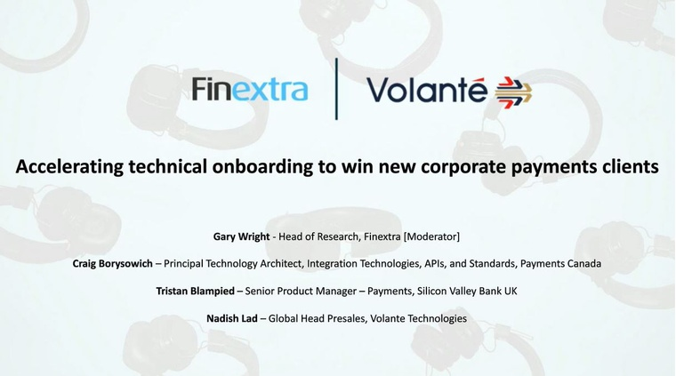 Accelerating Technical Onboarding to Win New Corporate Payments Clients