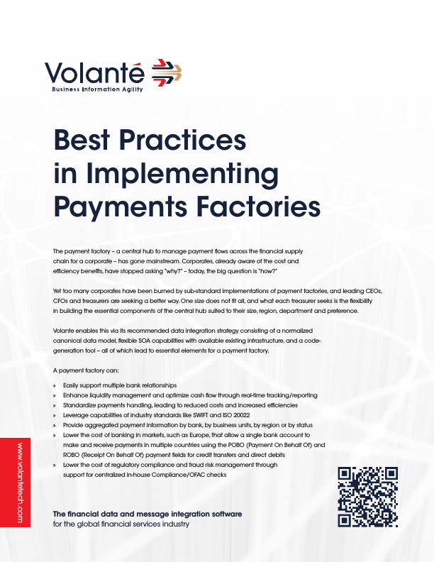 Best Practices in Implementing Payments Factories