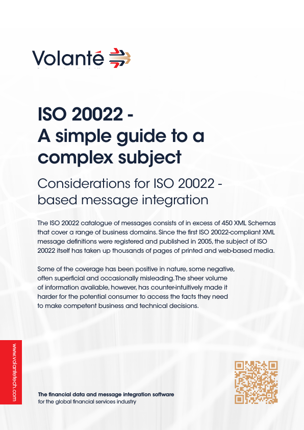 ISO 20022 – A simple guide to a complex subject