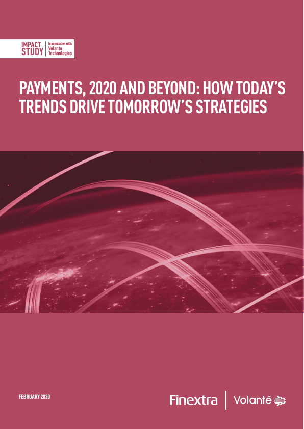 Finextra Payments Trends 2020