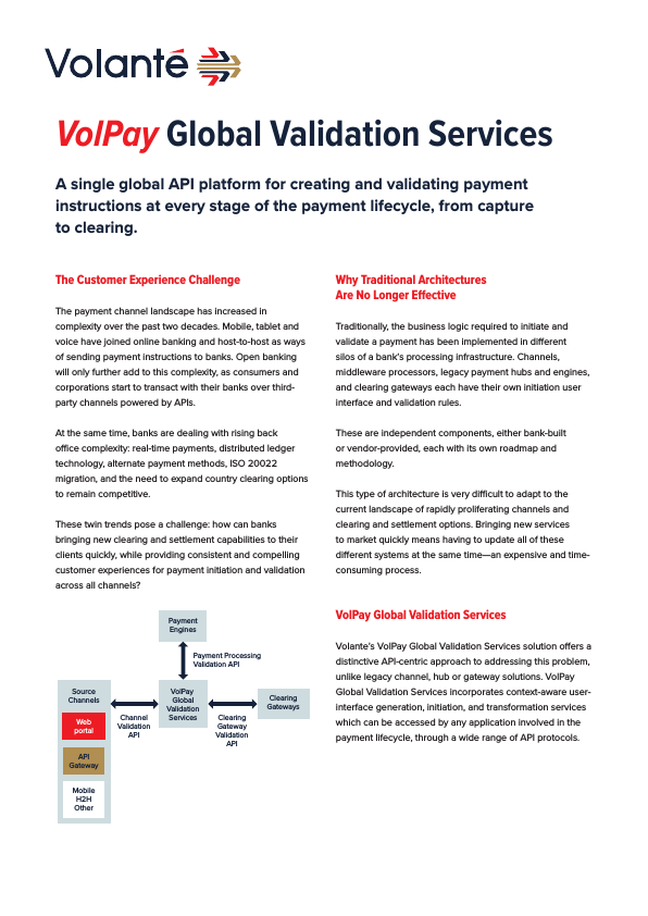 VolPay Global Validation Services