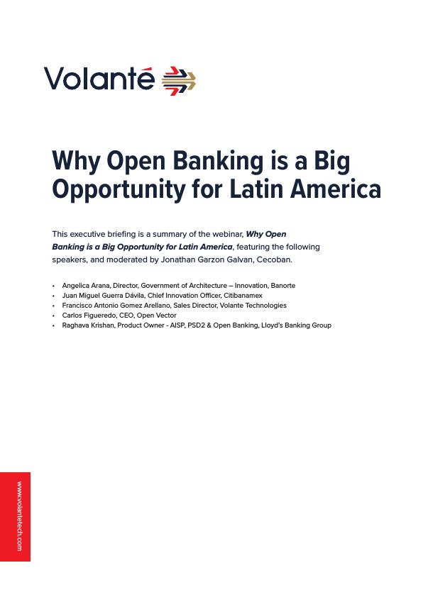 Open Banking in LatAm Webinar Summary