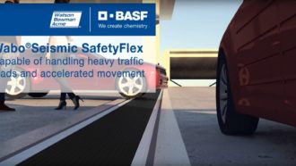 Wabo®Seismic SafetyFlex Capabilities overview Cover Image