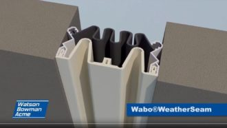 Movement demonstration of our Wabo®WeatherSeam Cover Image