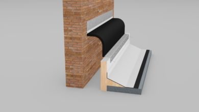 Wabo®Flash (ECF 600) - Roof to Corner - Exterior Roof Joint Systems