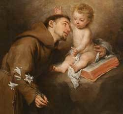 St. Anthony and the Infant Jesus