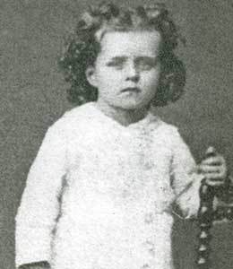 St Therese of the Child Jesus-3 years old-Novena Day 1