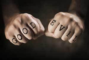 Tattooed Hands - Good & Evil