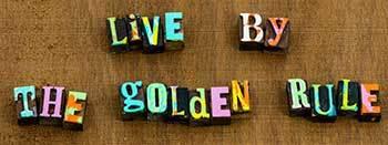 The Golden Rule in words