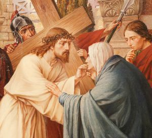 4th Sorrow of Our Lady - Meeting Jesus on the way to Calvary