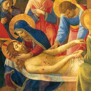 6th Sorrow of Our Lady - The piercing of His Side and descent from the cross