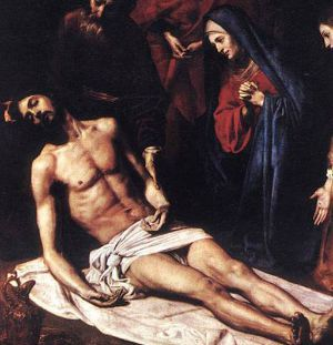 7th Sorrow of Our Lady - Burial of Jesus