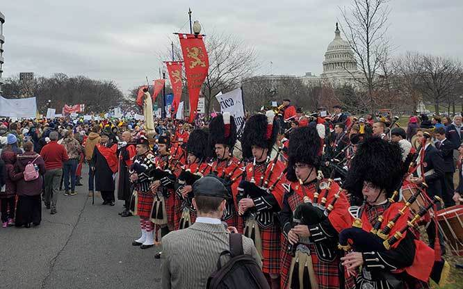 2020 March for Life - Our Band