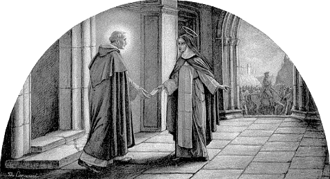 Bl. Raymond of Capua and St. Catherine of Sienna