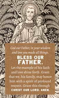 Fathers Day Card - Blessing