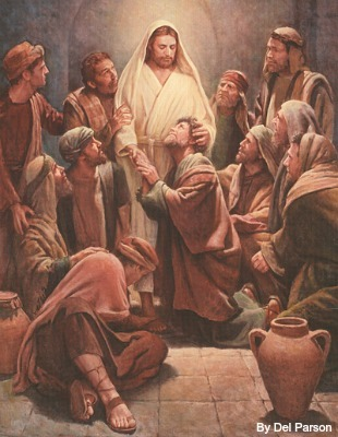 Image: Our Lord and the Apostles