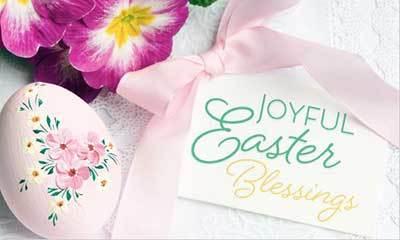 Easter Card - Joyful Easter
