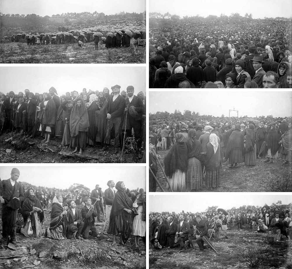 Photos of the witnesses of the Miracle of the Sun