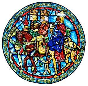 Three Kings - Stained Glass Window