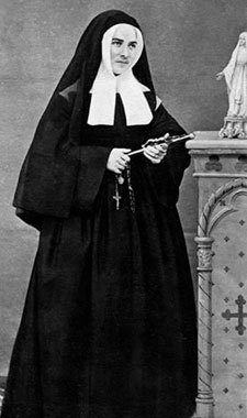 Image: St. Bernadette as a nun