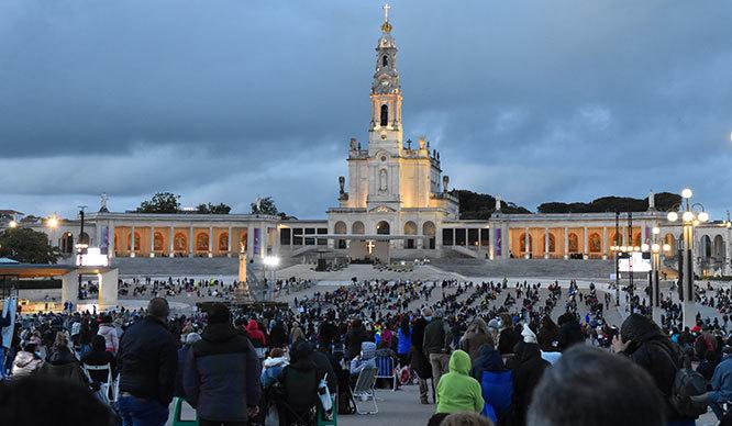 Fatima Portugal, May 2021 Candlelight Celebrations