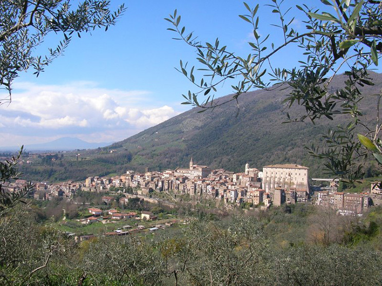Medieval town of Genazzano