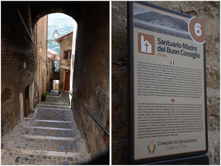 Streets of Genazzano