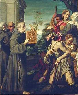 St Bernardine of Siena