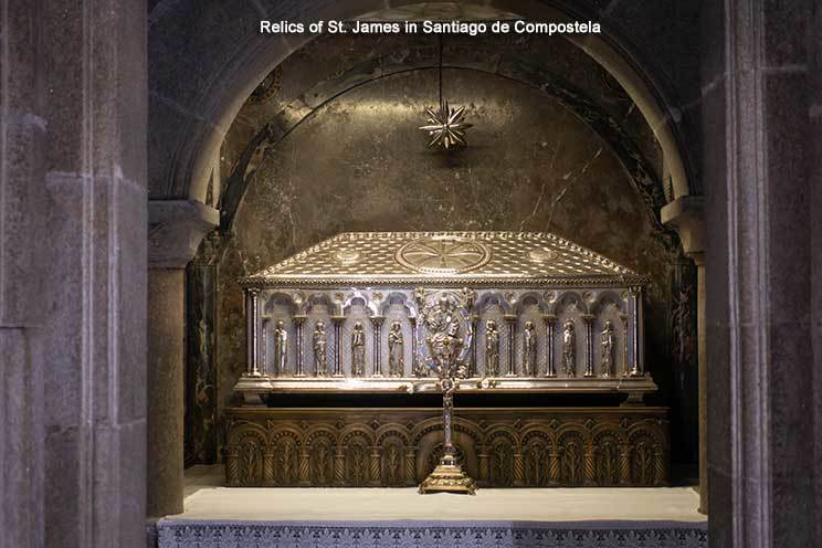 Relics of St James
