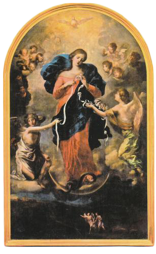 Painting of Our Lady Undoer of Knots