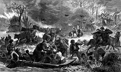 Image: Harper's Ferry - Fire in 1871