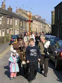 Palm Sunday Procession - Ribchester