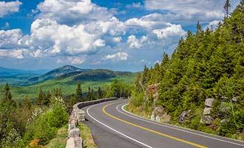 Adirondack Mountains - Pilgrimage to the Shrine of St Anne