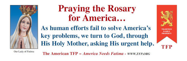 Praying the Rosary for America - English
