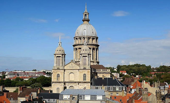 The shrine of Our Lady of Boulogne-sur-Mer