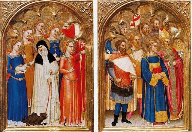 Choir of Virgins, Choir of Martyrs.