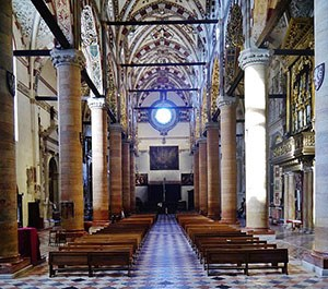Nave of the Church of St. Anastasia