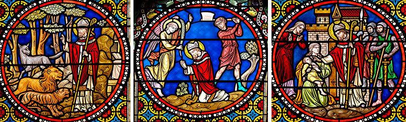 Scenes from the life of St. Austremonius