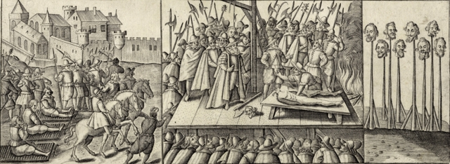 Martyrdom of the 40 English Martyrs