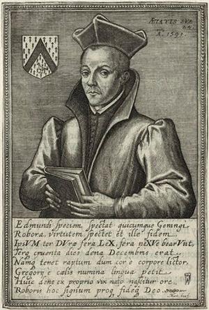 Portrait of Edmund Gennings