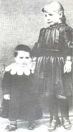 St Gemma Galgani as a child