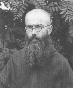 St. Maximilian Maria Kolbe as a Franciscan
