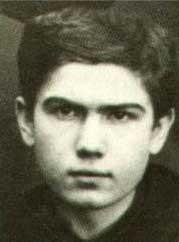St. Maximilian Maria Kolbe in his youth