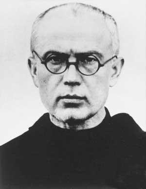 Image: St. Maximilian Maria Kolbe as an elder Franciscan