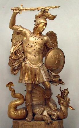 St. Michael defeats the devil