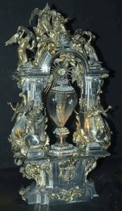 St Teresa of Avila's incorrupt heart